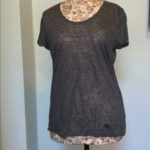 Burberry Brit Sheer Tee Shirt size medium